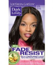 Dark and Lovely Fade Resist Rich Conditioning Color - Jet Black